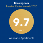 Booking.com Traveler Review Awards 2020 9.7 Rating